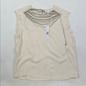 Doo.Ri Cream Chain Blouse
